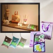 西安毛巾礼盒图片