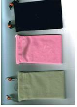 广东绒布袋批发 广东绒布袋定做 移动电源袋 手机袋 袋 手机袋 首饰袋 布袋图片