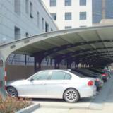 供应西安膜结构钢结构停车棚制作安装厂家,西安钢结构停车棚图片