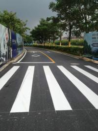 公路划线图片/公路划线样板图 (3)