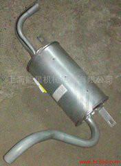 各种叉车排气管消声器图片