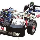 供应奥迪A6透明汽车整车模型模拟器汽车教学设备