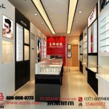 供应眼镜展柜设计首选郑州易象展示
