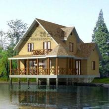 供应木屋木别墅小木屋图片