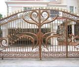 供应用于小区的成都围栏护栏栏杆,铁艺铁花,锌钢,不锈钢出售安装制作批发