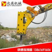 挖掘机快速连接器勾机快速联接器图片