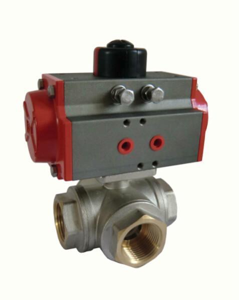 dn50防爆铸钢304对夹式蝶阀球阀参数:气动执行器参数 ·连接方式图片