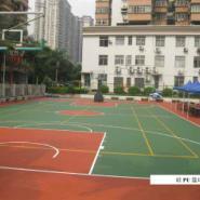 广州篮羽球场漆图片