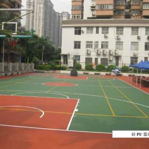广州刷篮羽球场漆图片