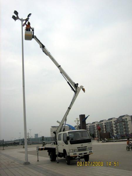 供应肇庆16米18米高空作业车路灯专用车