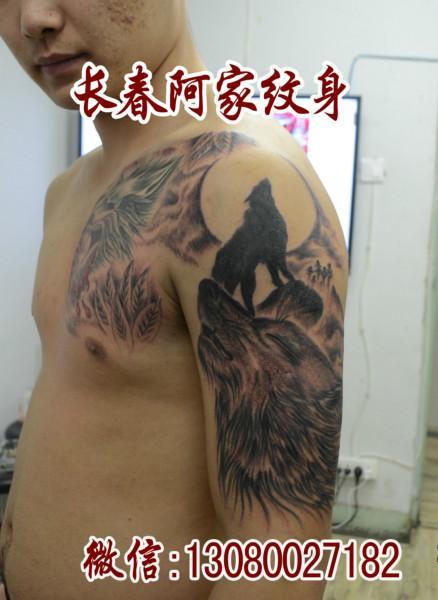 荧光纹身报价,图片,行情_荧光纹身价格_长春阿家纹身 (438x600)