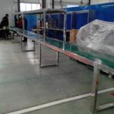 供应PVC皮带输送机不锈钢机体PVC材质食品输送机弹指间即可调速