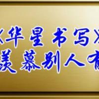 华星书写规范汉字书写
