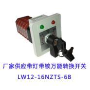 LW12LW21带灯带锁转换开关图片