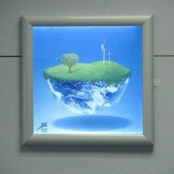 供應LED超薄燈箱廣告