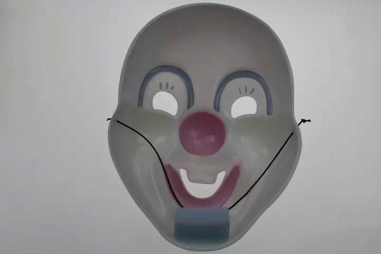 厂家热销小丑面具化装舞会表演道具报价图片