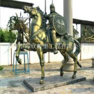 供应玻璃钢动物景观雕塑/仿铜奔马雕塑/城市园林景观雕塑厂家定做批发电话