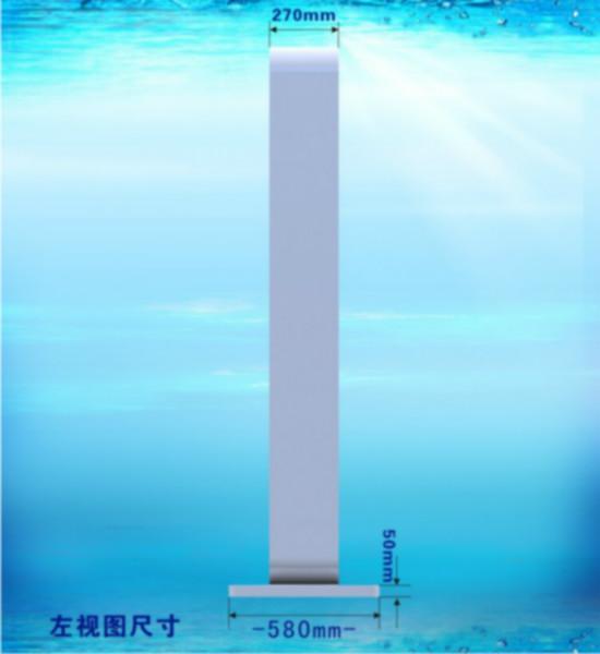 供应落地式55寸户外液晶广告机/多媒体信息广告发布系统