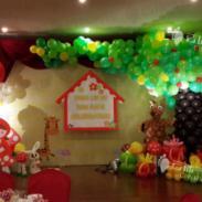 灰太狼气球/气球宝宝宴/气球装饰图片