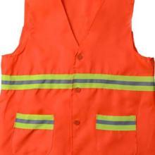 濮阳工作服厂家定做环卫工棉马甲定做橘色反光马甲批发