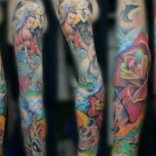 供应男式纹身立体纹身