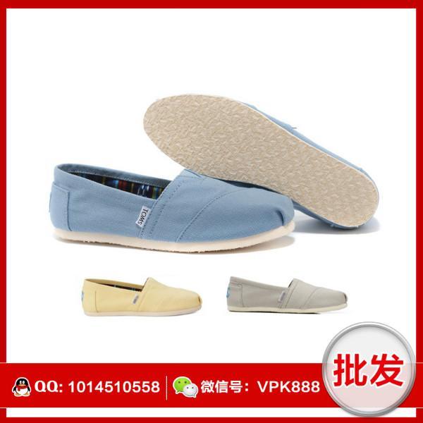 供应正品toms鞋 朗姆系列帆布女鞋
