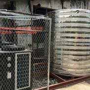 欧特斯空气源中央热水器图片