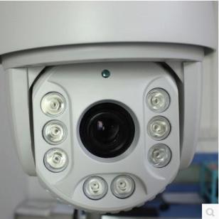 自动跟踪高速球摄像机1080P图片