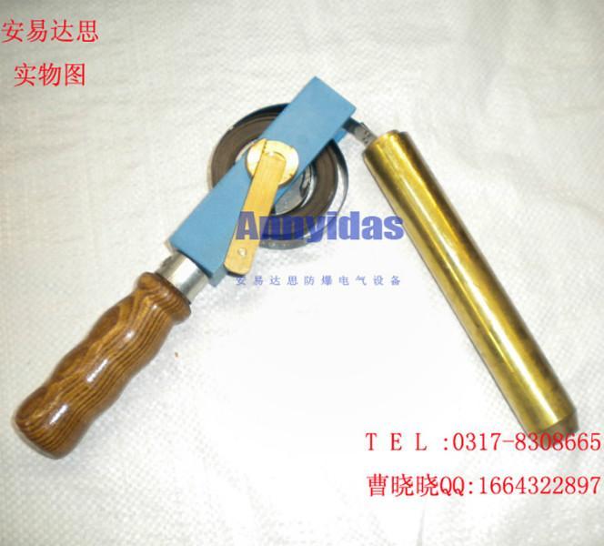 供应铜量油尺手动量油卷尺防爆测油尺价格