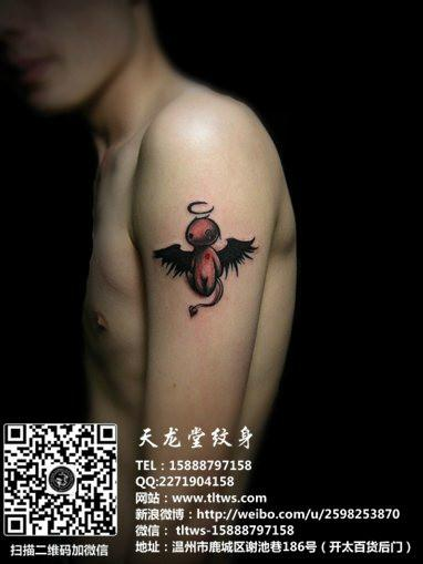 小恶魔纹身图片