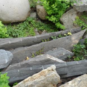 安徽铜陵斧劈石图片图片