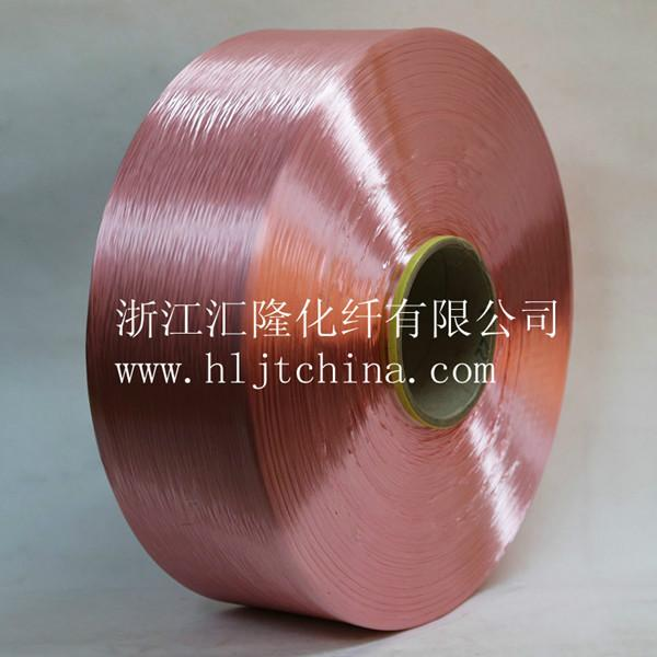 供应300D织带用色泽光亮FDY涤纶色丝