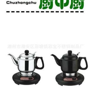 不锈钢风华A型电热泡茶壶图片