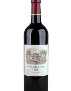 拉菲酒庄副牌红葡萄酒图片