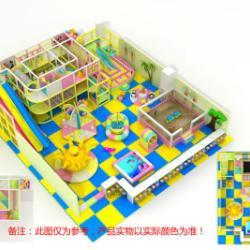 淘氣堡兒童樂園場地免費設計