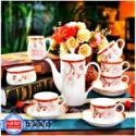 高档陶瓷咖啡具图片