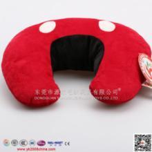 供应毛绒U型枕头 卡通毛绒U型枕 枕头护颈枕 保健枕 记忆枕  颈椎枕