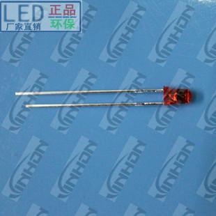 供应3mm红发红短脚超亮LED发光二极管