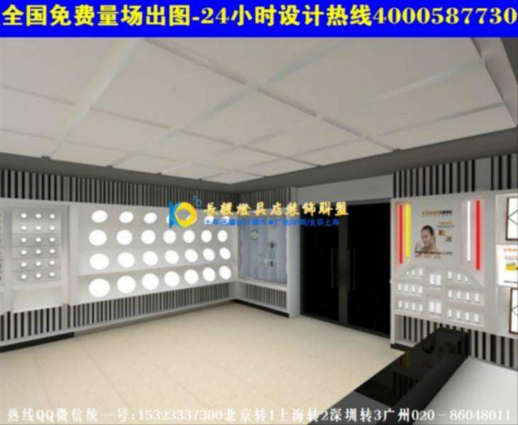 南京灯饰店装修效果图灯饰店装修设计2高清图片