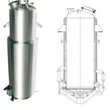 供应多功能直筒型提取罐
