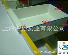 供应用于盛放|收纳|分类的挂货架上的方形挂斗白色格斗塑料盒批发