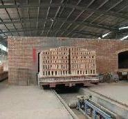 隧道窑炉设备真空砖机图片
