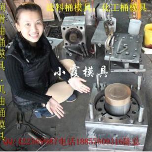 浙江注射模具塑胶机油桶模具图片