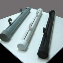供应广告挂轴,塑料挂轴,规格:2.4m长,配4帽2钩,颜色:灰色/白色/黑色