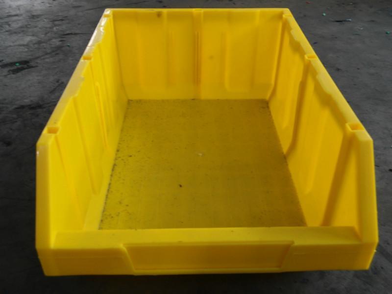 供应6号塑料零件盒,组立零件盒,带标卡零件盒