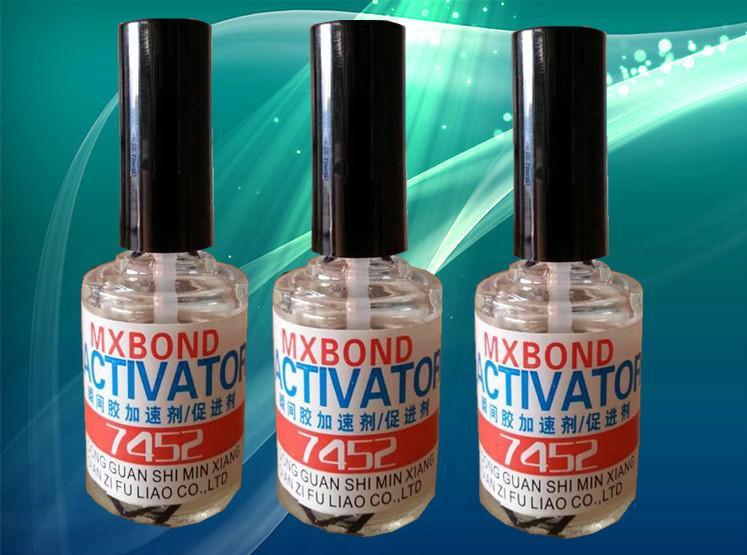 供应用于降低白雾的快干胶460胶水催干剂 瞬间胶促进剂