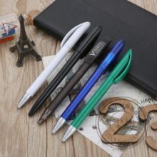 供应优质塑料圆珠笔旋动按动塑料笔厂批发