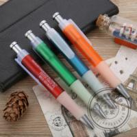 供应广州塑料圆珠笔塑料广告笔订制厂