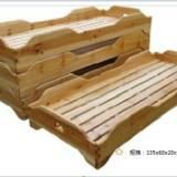 供应郑州幼儿园床幼儿园实木床批发