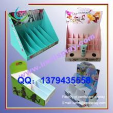 供应纸展示盒、PDQ展示盒、纸陈列盒、台式纸展盒批发